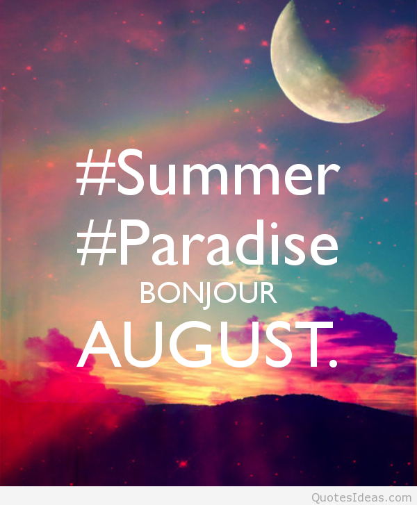 hello august quotes